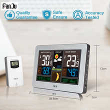 Weather Station Temperature Barometer Outdoor Wireless Sensor USB Charger
