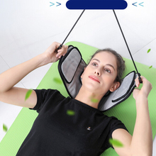 U-Shape Pillow Neck 3 Layers Soft Inflatable Air Cervical Traction Headache Pain Relief Health Care for elder