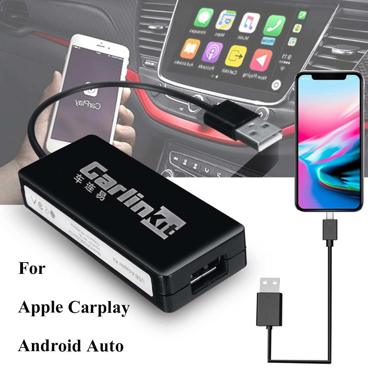 Carlinkit USB Smart voiture lien Dongle pour Android voiture Navigation pour Apple Carplay Module Auto téléphone portable USB Carplay adaptateur