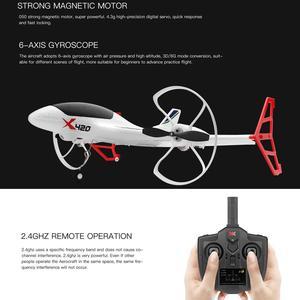 Image 3 - Drone de jouets en 3D, RC 3D, avion de course, télécommande, décollage Vertical, atterrissage, avion à aile fixe, parc extérieur