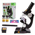 Exploración de ciencia para niños early education toys puzzle aprender ciencias conjunto microscopio estudiante conveniente experimento científico