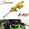 CNC Aluminum Universal Motorcycle Steering Damper For KAWASAKI z800 z1000 accessories zx6r versys 650 ninja 300 Free shipping