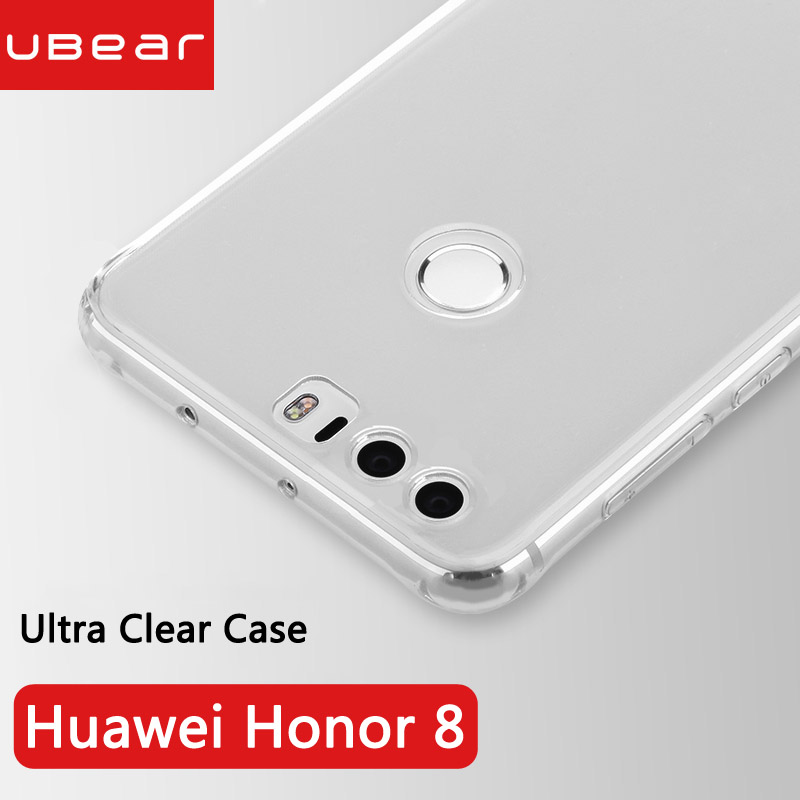 Huawei honor 8 cover back soft silicone original iBear 4gb 5.2 inch huawei honor8 clear fundas ultra thin 8 coque honor 8 cases
