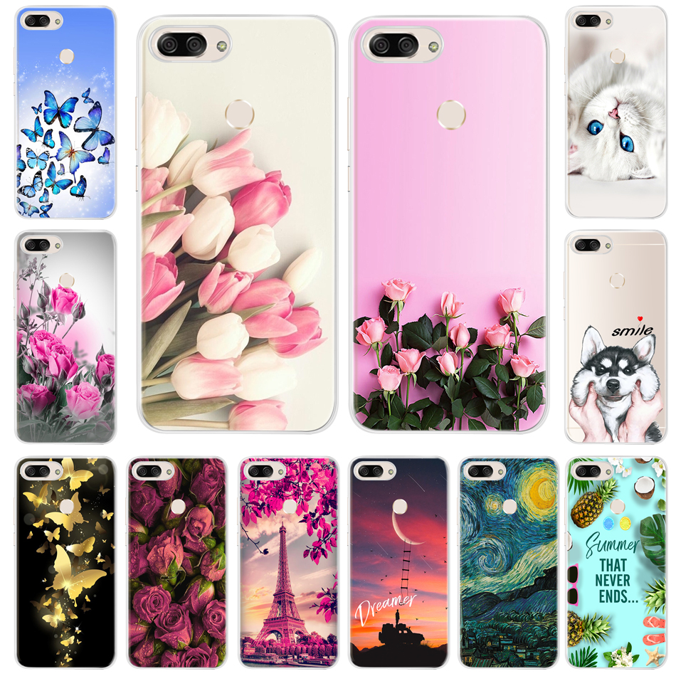 Soft Silicone Phone Case For Asus ZenFone Pegasus 4S Max Plus M1 Case Cover For Asus ZenFone Max Plus M1 ZB570TL Coque Fundas