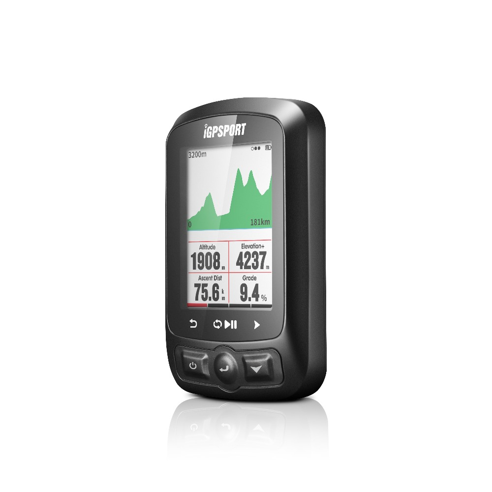 iGPSPORT IGS618 GPS Cycling Computer Wireless IPX7 Waterproof Bicycle Digital Stopwatch Cycling Speedometer ANT Bluetooth 4
