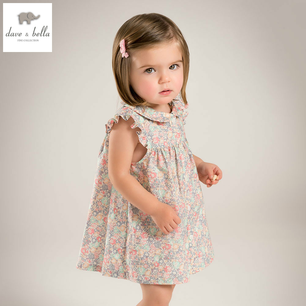 Db5051 Dave Bella Summer Baby Girl Wedding Dress Baby
