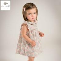 DB5051 Dave Bella Summer Baby Girl Wedding Dress Baby Sweet Princess Dress Floral Dress Kids Birthday