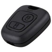 3 кнопки чехол для дистанционного ключа от машины оболочка брелок для Citroen C1 C2 C3 Pluriel C4 C5 C8 Xsara Picasso крышка uto ключ Ремонт чехол P25