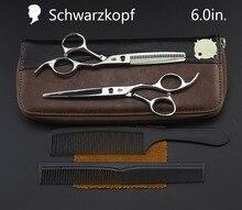 Juego de tijeras de peluquería profesional, nuevo juego de tijeras de corte de pelo, tijeras de peluquero, salón de alta calidad, 6,0 pulgadas, opcional multicolor