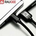 Raugee usb 3.1 tipo c cable de carga rápida y transferencia de la fecha cable usb para xiaomi mi mezcla/pro mi note 2, UMI Plus, zte nubia z11 mini s