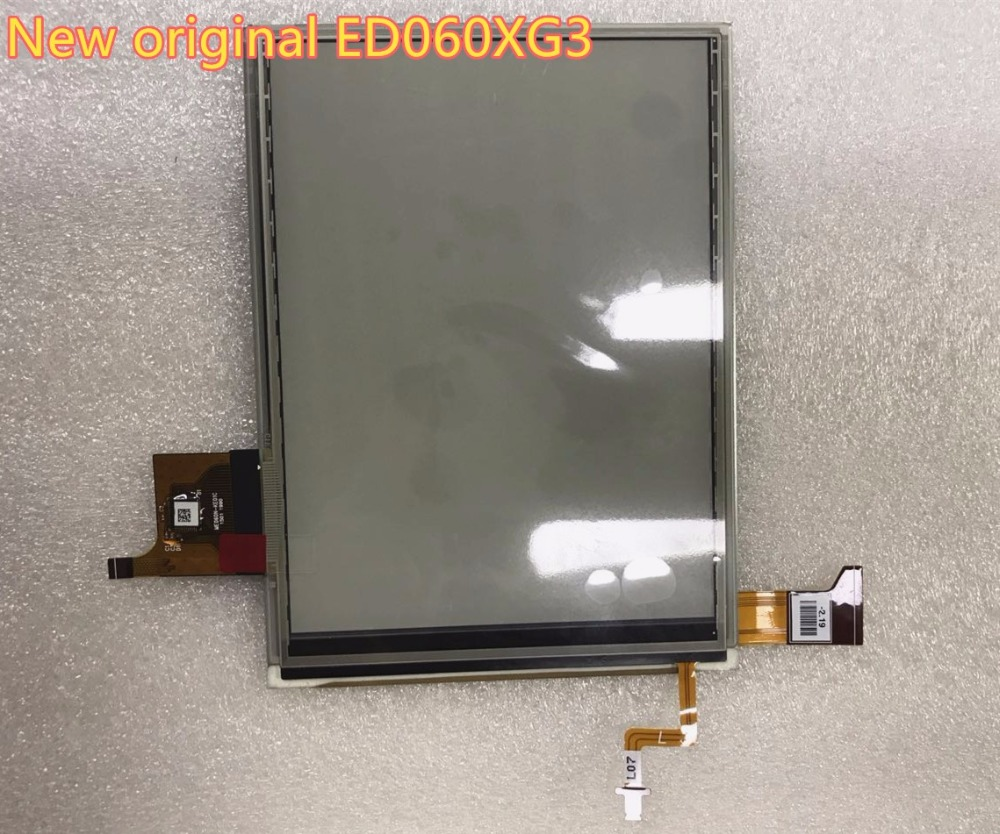 free shipping 100% original 6-inch HD ED060XG3 ED060XG3(LF)T1-00 LCD for E-book readers LCD display pocketbook 650 6inch lcd display matrix with light for qumo libro lux ii e book free shipping