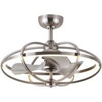 Nordic Fan Lamp Ceiling Fan Lamp Dining Room Room Fan Lamp Modern Simple Negative Ion Ceiling Fan Lamp