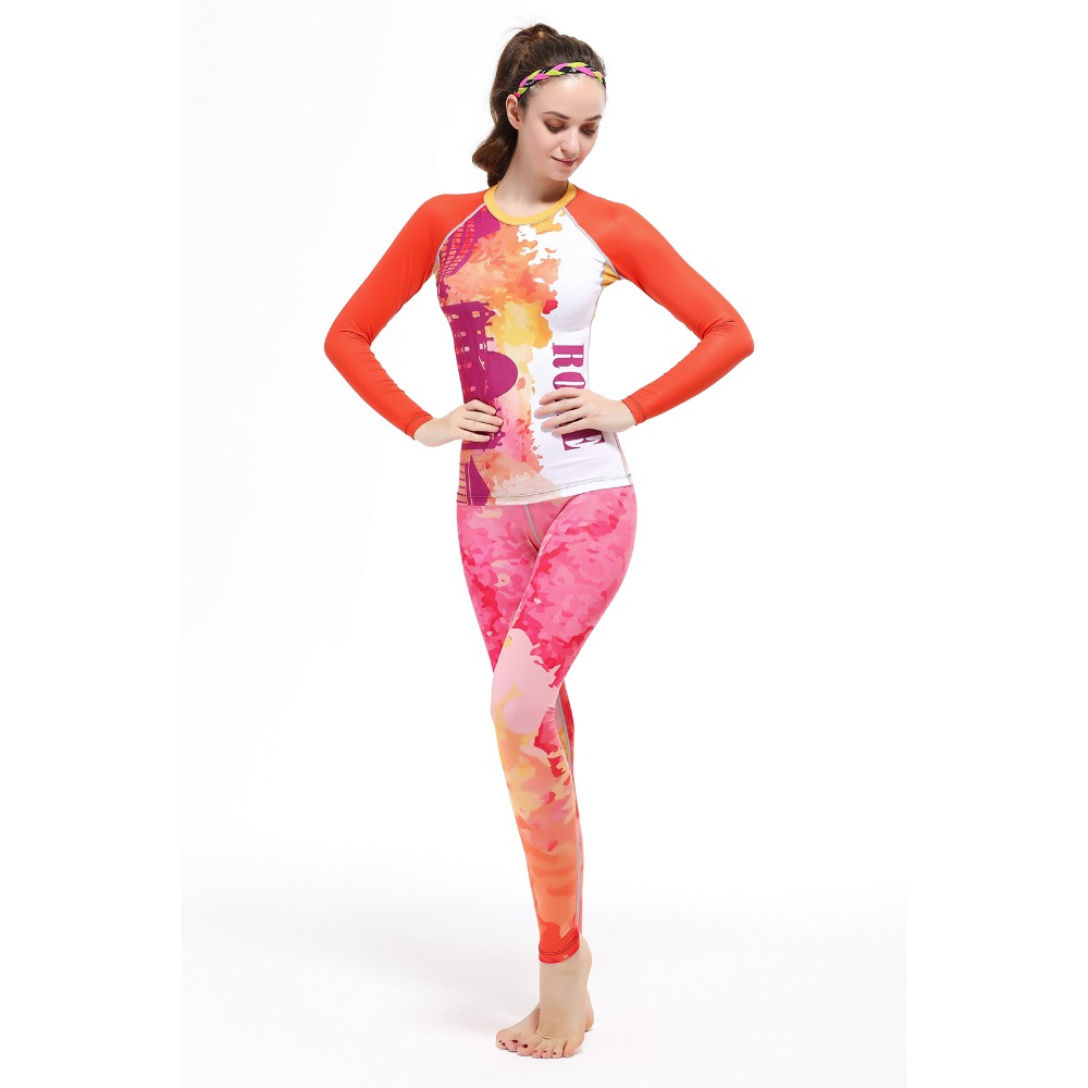 New Women Color Sport Set Elasticity Sports Sets Yoga Running Jogging Clothes&Pants Aerobics Gym Female Fitness Breathable Suit 3pcs jackets bra pants dry fit yoga set women sport set gym clothes sports fitness jumpsuit women yoga suit for girls meditation