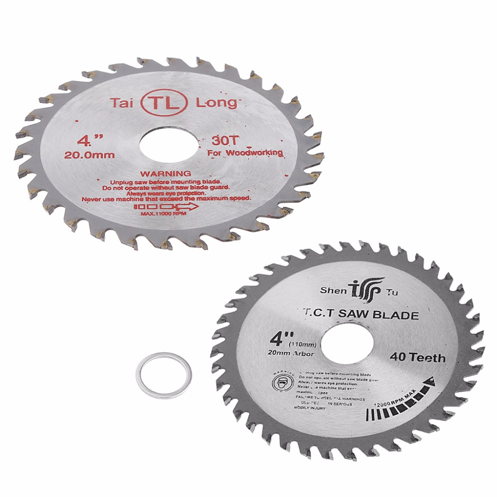 1PC 4 inch Circular Sawing Blade Wood Cutting Round Discs Sawing Cutter Tool 30T/40T -B119 mobile sawing