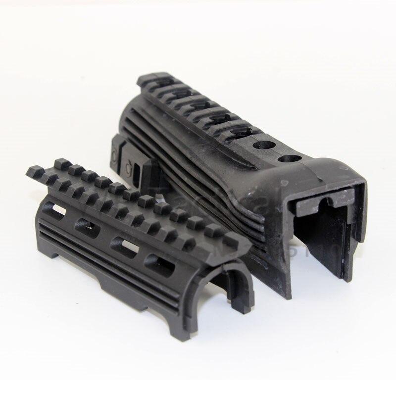 Tactical Polymer RIS Railed AK Handguard For 47 74 Series Hunting Rifle Gun Accessories Black