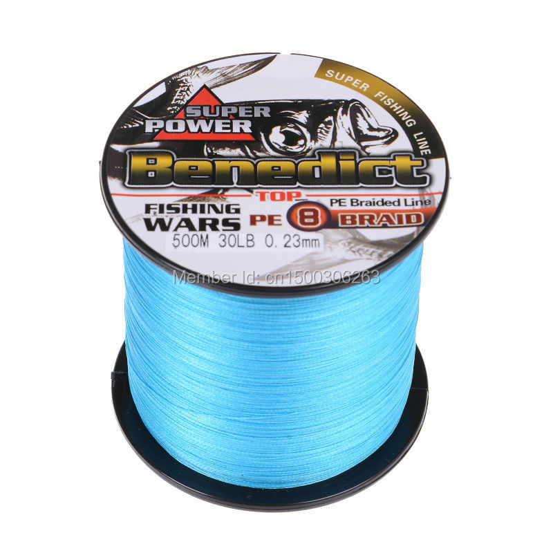 8 strands 500M blue