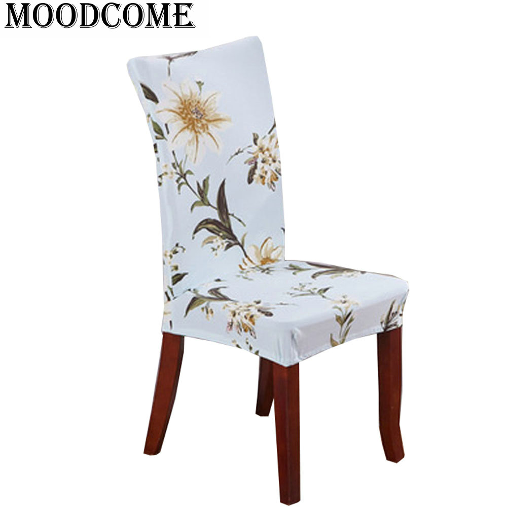 ✅2017 Spring Netherlands Lily Printed Chair Cover Spandex fundas ...