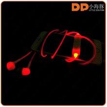 electrical item list color change LED earphone illuminated glow light LED earphone