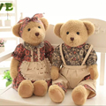 2 pcs/set 65 cm Couple Teddy Bear Soft Plush Stuffed Animal  Toy Kis Doll  Lover Gift