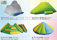 Custom made Inflatable Floating Playground CE Approved Inflatable Play Facility HZ E016