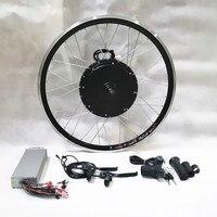 48V/60V/72V/84V/96V 1000W electric bicycle hub motor ebike Conversion Kit for 26 Rear Wheel with Digital Display throttle