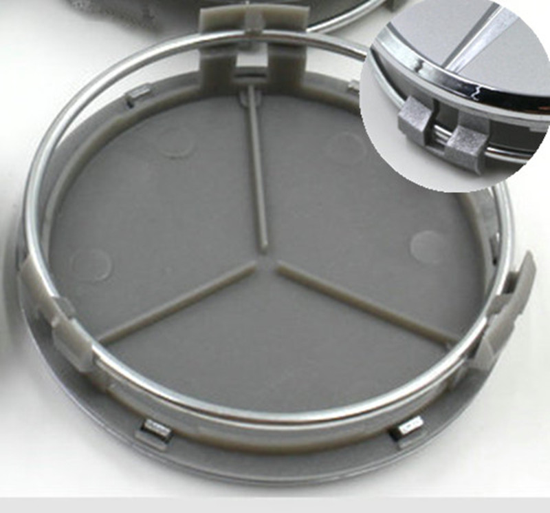 55mm 56mm 60mm 62mm Seat Wheel Center Caps Emblem Badge