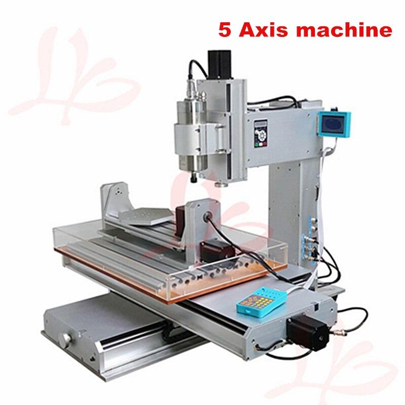 3040 haute précision 2.2KW mini CNC fraiseuse 5 axes CNC vis à billes Table colonne Type
