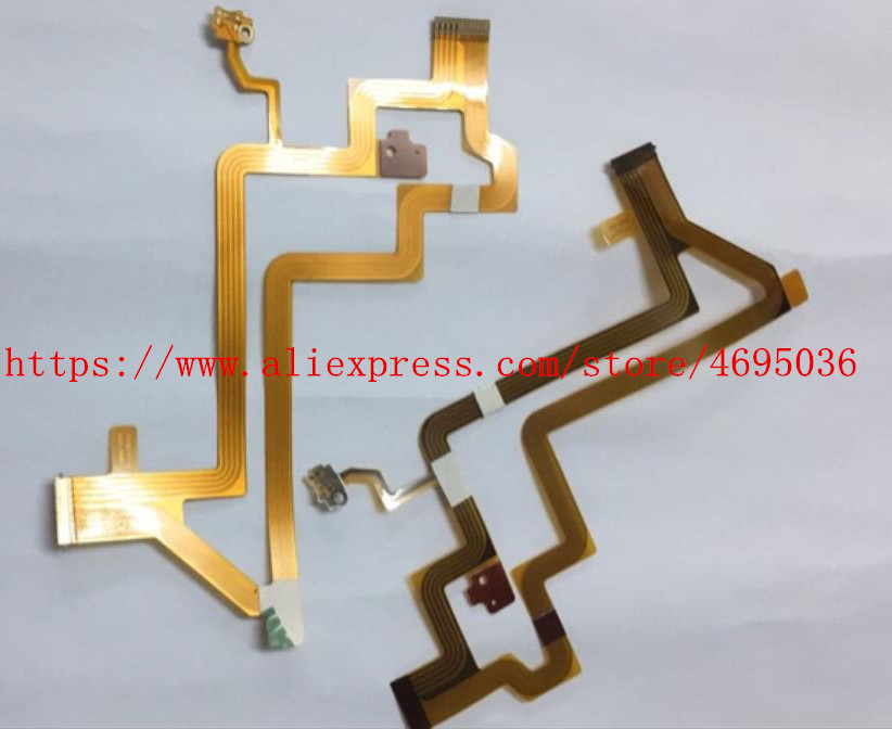 NEW LCD Flex Cable For CANON HF R36 R306 R38 R300 Video Camera Repair Part