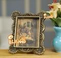 1:12 Dollhouse miniatura enmarcado cuadro retrato marco de metal tallado productos terminados envío gratis