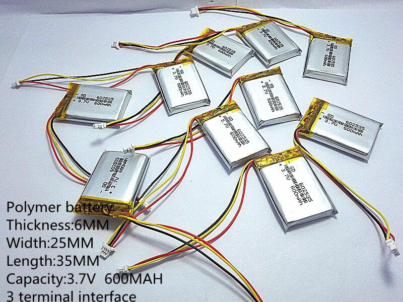 Baterias Digitais capacidade 600 mah thium bateria Marca : Liter Energy Bateria
