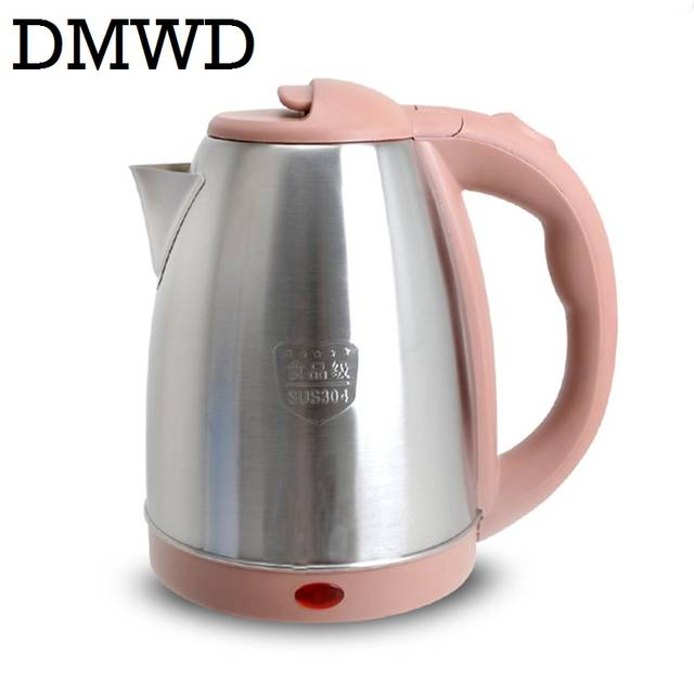 9936260c7 placeholder DMWD 110V 1.8L Electric Kettle hot water heating tea pot Travel  boiler MINI Cup Portable