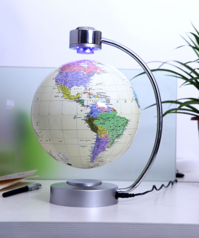 Beau 8 Inch Big Rotation Magnetic Levitation Globe Floating Decorative World  Globes Home Decor As Best Gifts On Aliexpress.com | Alibaba Group