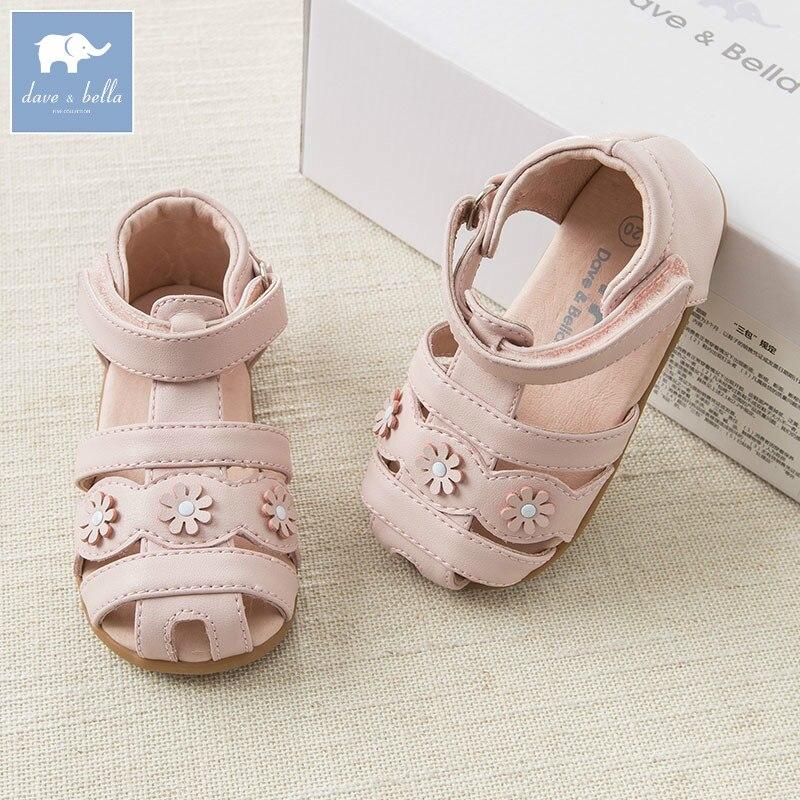 DB6993 Dave Bella spring summer baby girl pink sandal brand shoes
