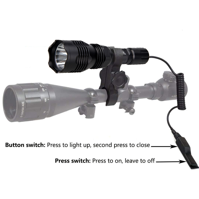 VA-802 1000lm 400 jardas luz arma tático