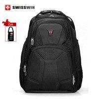 Swisswin High Quality Brand Men 1680D Nylon 15 17 Laptop Backpack Swiss Business Travel Notebook Backpacks