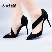 She ERA Women Shoes Ladies Red High Heels For Women Pumps 6/8/10M Bridal Stiletto Evening Party Formal Prom Shoes