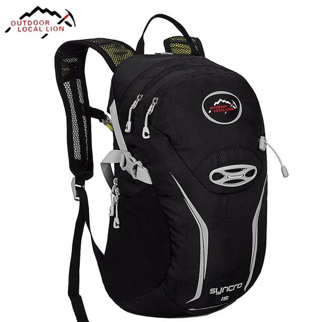 b34d45713392 LOCALLION Ultralight Mountain Bike Backpack Race Cycling Backpacks Rucksack  Outdoor Sports Bag For Running Biking Climbing 15L