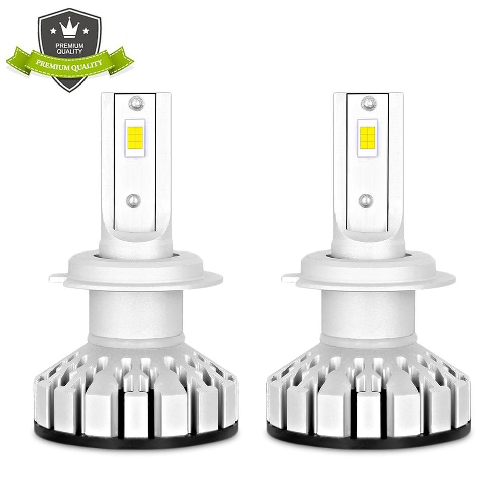 все цены на R8 Car Light LED H4 H7 Led Bulb H1 H3 H8 H9 H11 HB3 HB4 Leds Lamp Headlight Bulb 100W 10000lm 300% Percent Brighter for 12V 24V