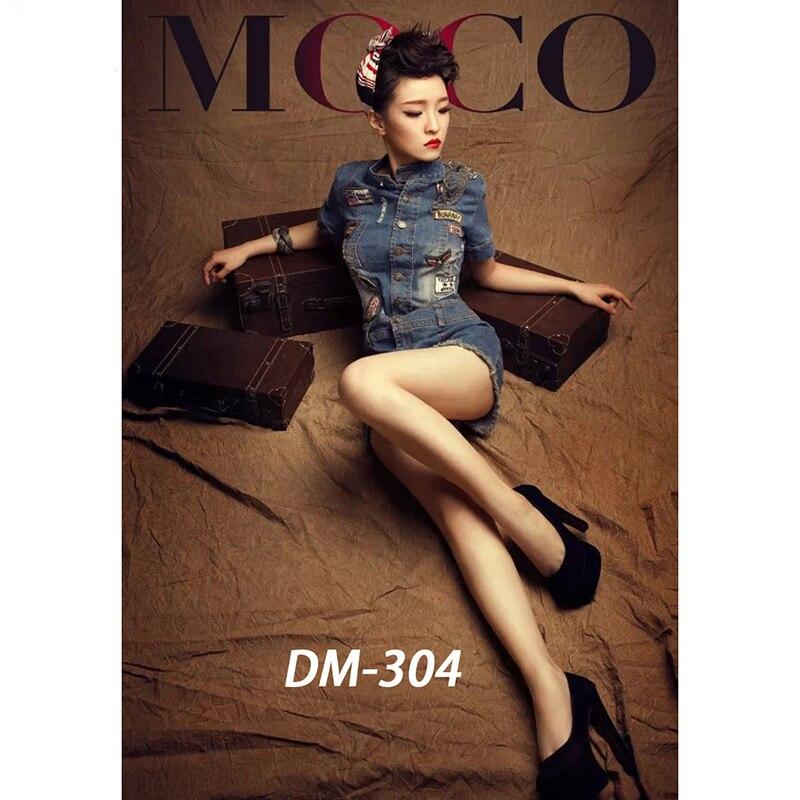 DAWNKNOW Pro fond de teint en mousseline marron pour studio photo ancien maître peinture Vintage fond de photographie DM304