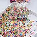 72 цветов, можно выбрать 2.6 мм hama бусы perler предохранитель бисер цвета утюг бисер дети DIY игрушки ручной работы Подарки о 23000 шт./лот