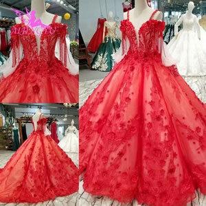 Image 2 - AIJINGYU 格安ウェディングドレス割引リアル画像スイスセクシーなヴィンテージドレス袖ビクトリア朝のウェディングドレス