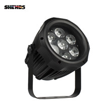 Shehds Tahan Air Par LED 7X12W RGBW Lampu Outdoor IP65 Tahan Air 7X18W 6in1 DMX Efek lampu Panggung Panggung Profesional DJ(China)