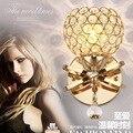 Головка кровати  настенная лампа  кованые трубы  гнущиеся хрустальные Настенные светильники для ресторана  коридора  гостиной
