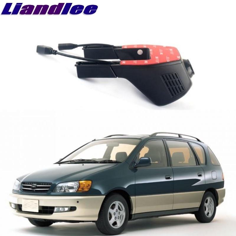 Liandlee For Toyota Ipsum / Sportsvan / Picnic 2001~2009 Car Black Box WiFi DVR Dash Camera Driving Video Recorder цена