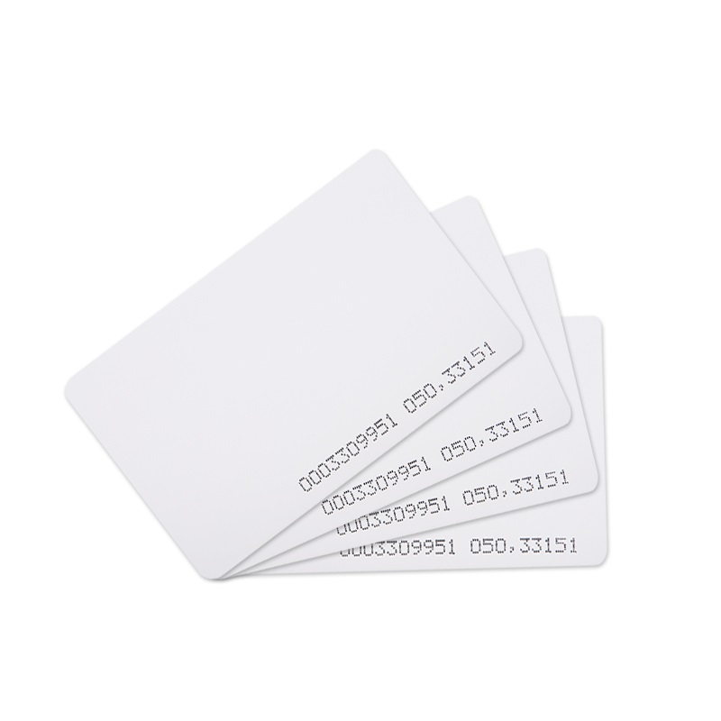 200piece/lot Rfid 125Khz TK4100 Chip ISO EM Card for Time Attendance access control system
