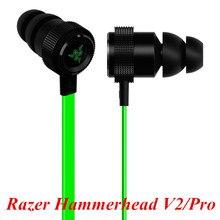 Lo último En la oreja auriculares para juegos Razer Hammerhead V2 Pro auriculares con aislamiento de Ruido de micrófono estéreo de graves profundos para fone de ouvido