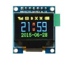Tela de oled colorida 0.95 polegadas spi, resolução ssd1331 96x64 para arduino