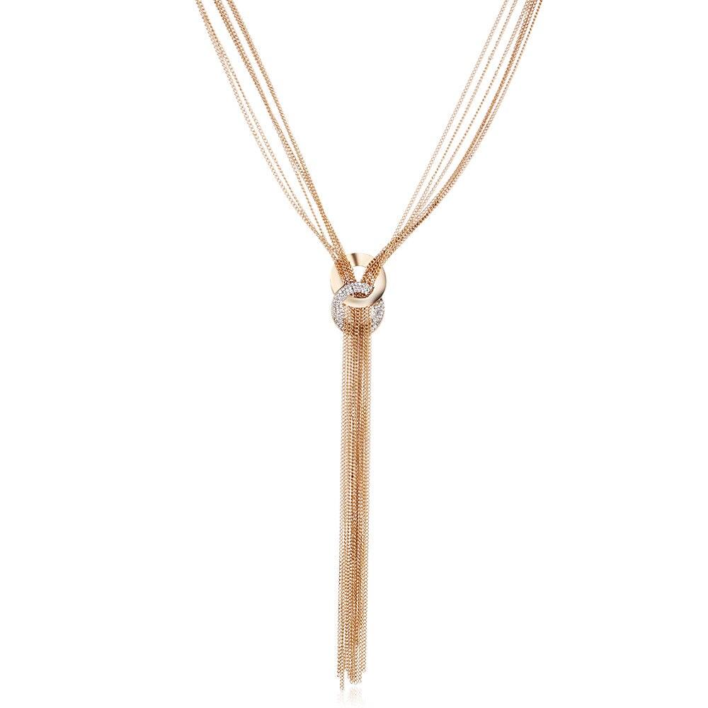 0567a0241490 Moda caliente elegante Bohemia borla collar largo