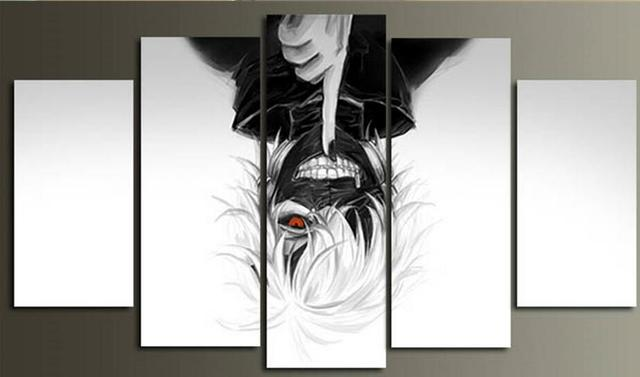 Tokyo Ghoul 5 Piece Canvas Picture Wall Art