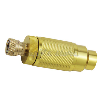 Filtro de aire de bomba de mano PCP de alta presión de 4500PSI separador de aceite-agua con conector hembra y macho pcp tanque de aire M10 * 1